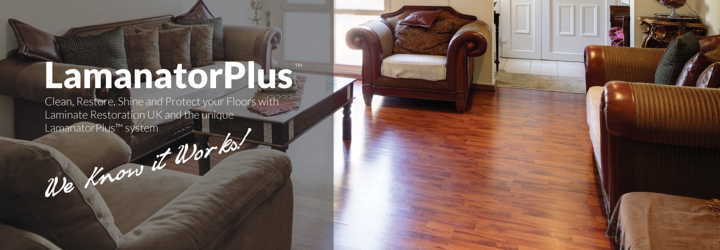 LamanatorPlus Laminate floor polish